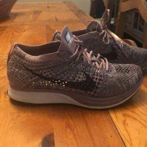 Nike mesh girls youth sneakers (light purple) 4.5